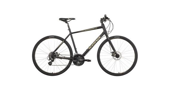 Kona Dewey hybride fiets zwart